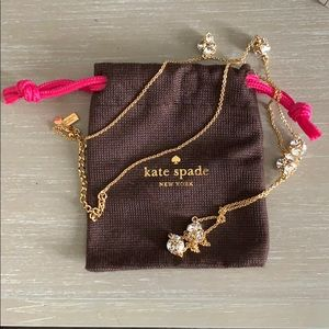 Kate Spade Gold Jeweled Necklace